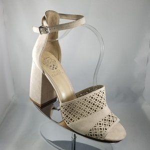 Moonstone Cutout Gidge Suede Sandal -Size 10-NWOB